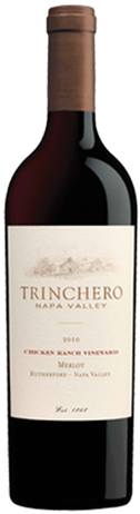 Trinchero Merlot Chicken Ranch Vineyard
